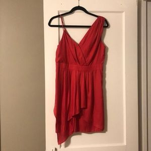 BCBG Cocktail Dress in Coral